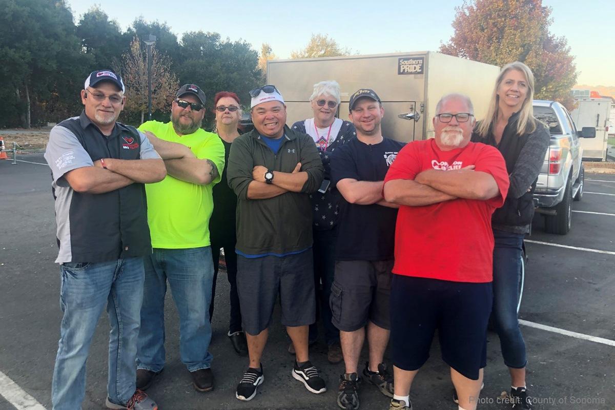 Petaluma, California (Fire) / 200 Meals Over 1 Day
