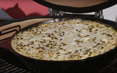 Cindy's Mexican Street Corn Bake with Mike Golic and Stan Hays