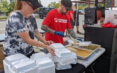 Sonora, California (Fire) / 1,500 Meals Over 4 Days