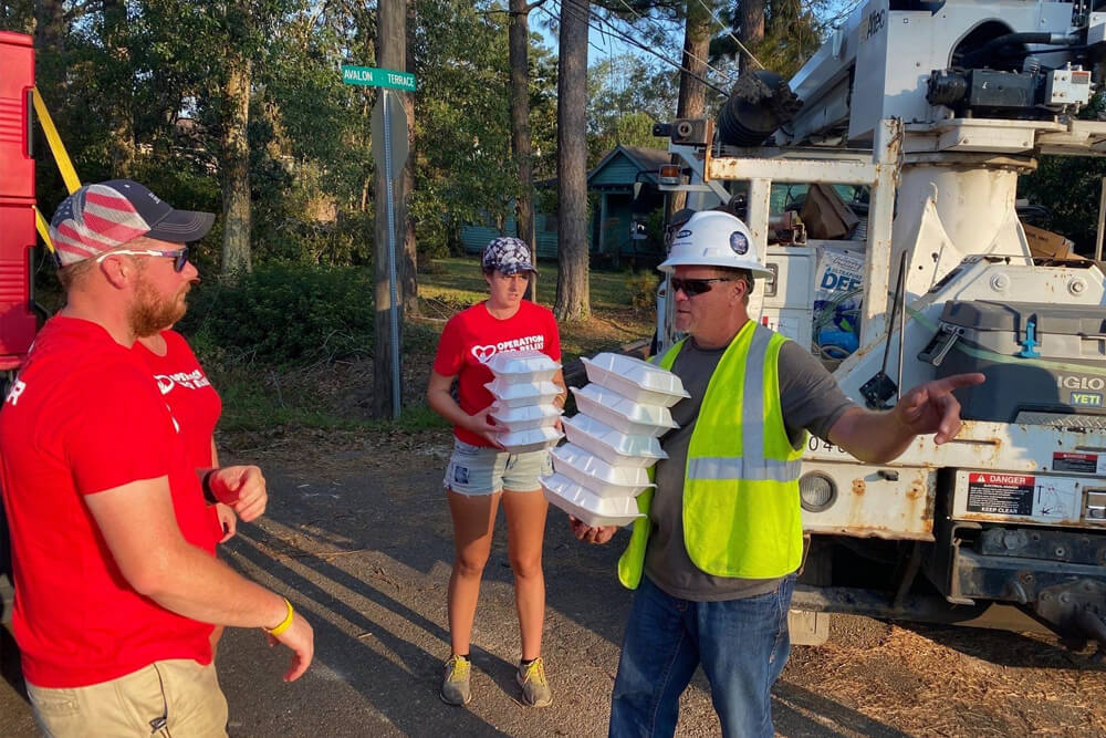 Hammond, Louisiana (Hurricane) / 247,055 Meals Over 21 Days