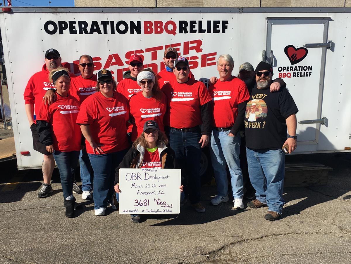 Freeport, Illinois (Flood) / 3,681 Meals Over 4 Days