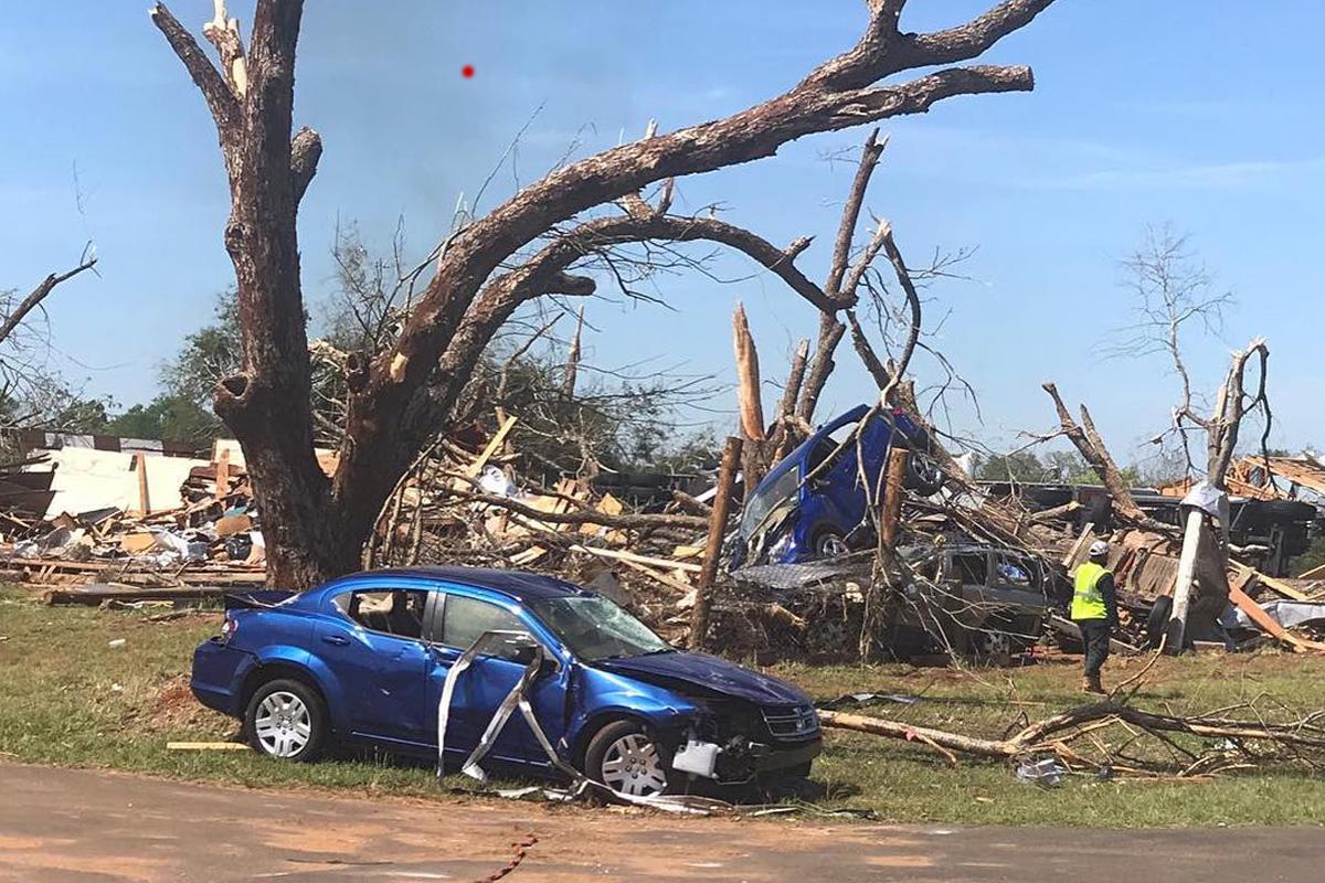 Franklin & Alto, Texas (Tornado) / 1,960 Meals Over 3 Days