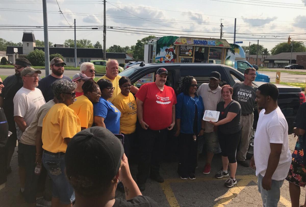 Dayton, Ohio (Tornado) / 15,172 Meals Over 6 Days