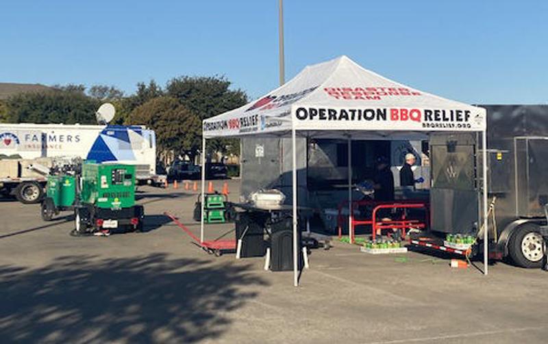 North Dallas, Texas (Tornado) / 1,450 Meals Over 2 Days
