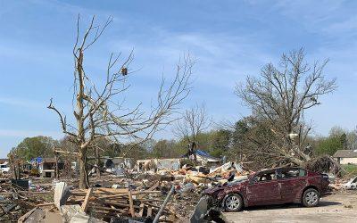 Jonesboro, Arkansas (Tornado) / 1,700 Meals Over 2 Days