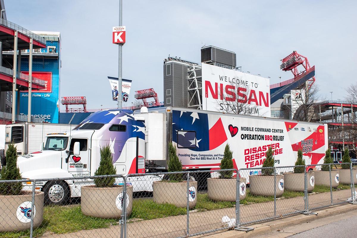 Nashville, Tennessee (Tornado) / 120,780 Meals Over 8 Days