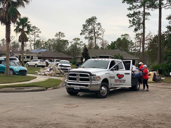 Orange Beach, Alabama (Hurricane) / 63,655 Meals Over 7 Days