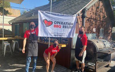 Ashland, Oregon (Wildfire) / 4,990 Meals Over 11 Days