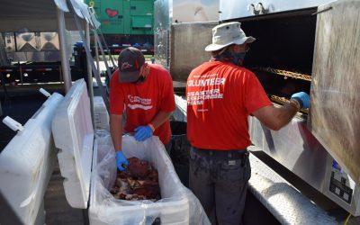 Lake Charles, Louisiana (Hurricane) / 32,795 Meals Over 7 Days