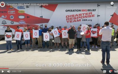 Operation BBQ Relief 2020 Highlights