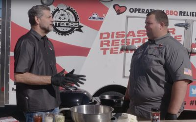 Spicy Buffalo Chicken Dip with Mike Golic and Bryan Mroczka