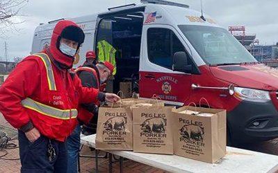 Nashville, Tennessee (Explosion) / 310 Meals Over 5 Days