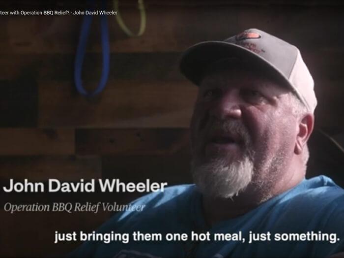 Why Volunteer? John David Wheeler